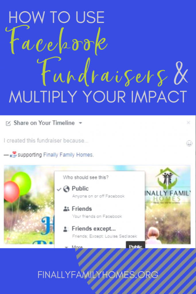 How to Create a Facebook Fundraiser example image