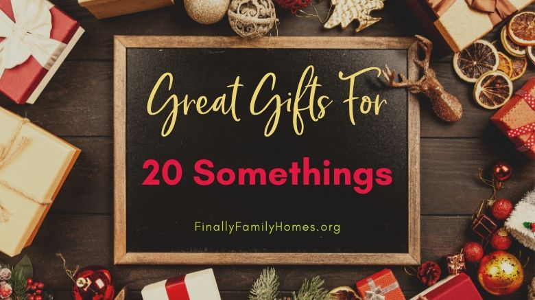 Cheap Great Gifts for 20 somethings