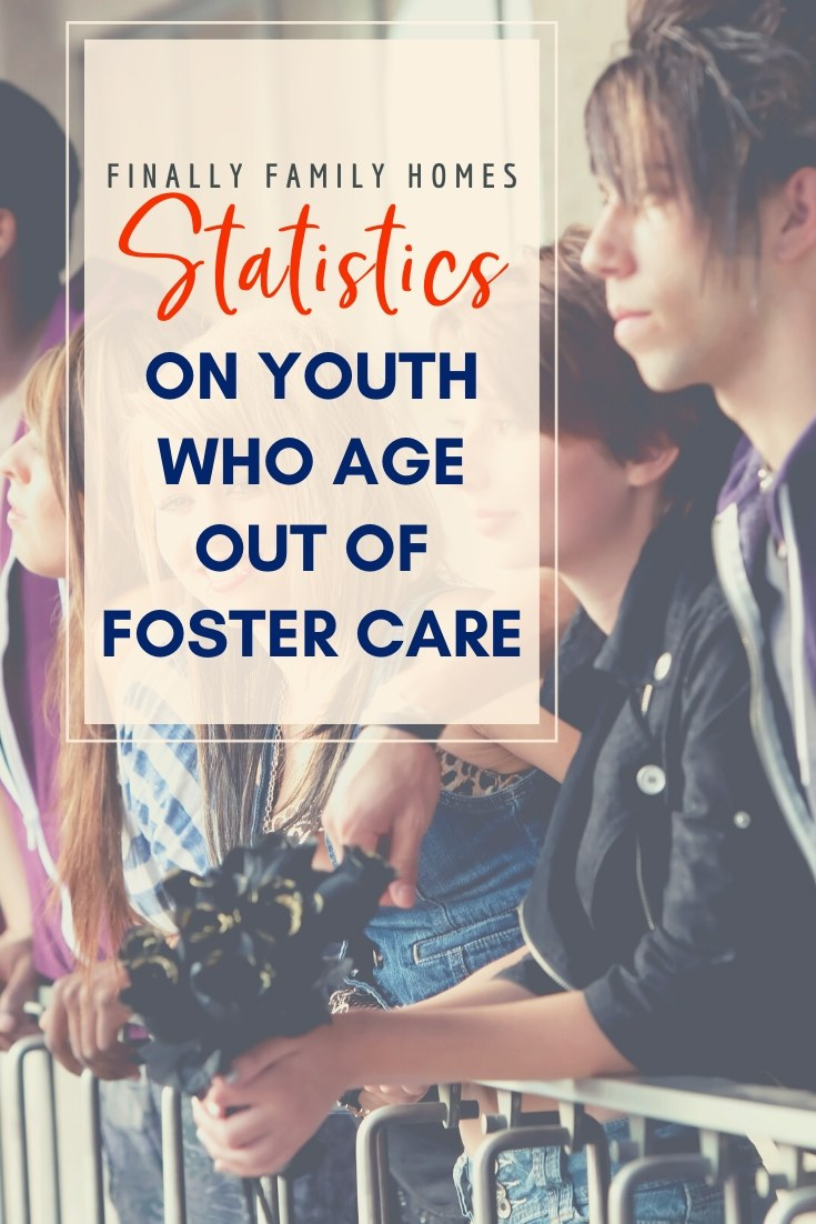 image of aging out statistics for youth in foster care - Finally Family Homes