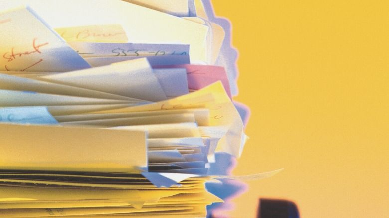 how to organize and file important papers