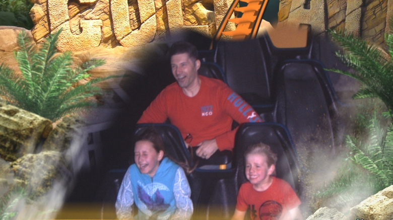 image of spring break ideas for families near los angeles - magic mountain