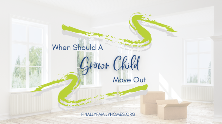 when should a child move out - moving out at 18