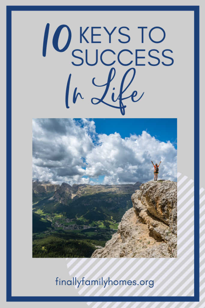 image of Keys to Success in Life