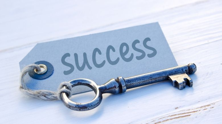 image of a key to success