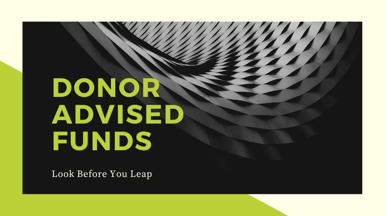 image of donor advised funds