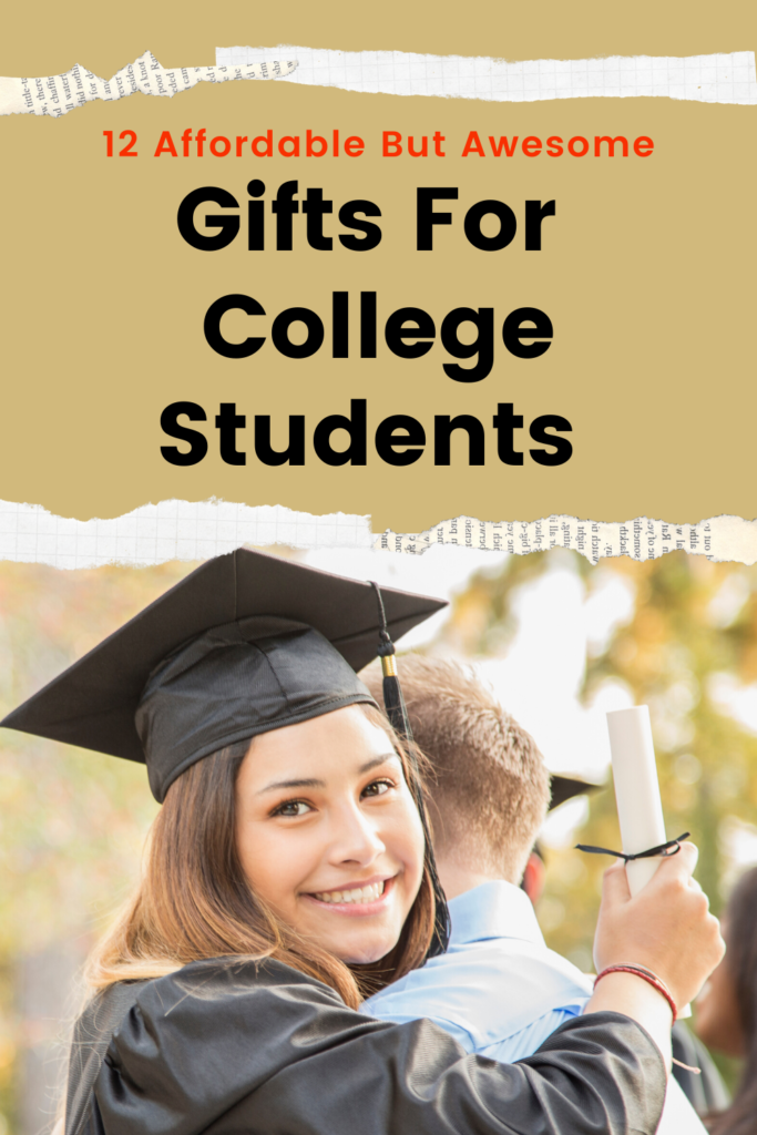 12 gift ideas for college students