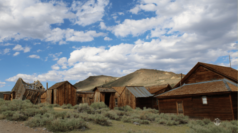 image of bodie ghost town california