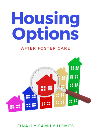 Supportive housing for youth aging out of foster care - options