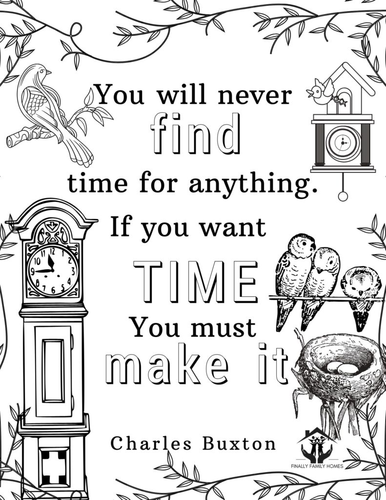 image of free coloring page Charles Buxton Quote