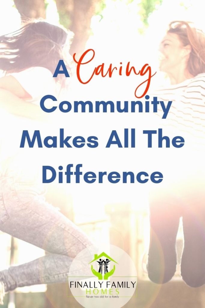 image of a caring community makes all the difference