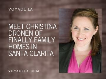image of Christina Dronen of Finally Family Homes in article for Voyage LA