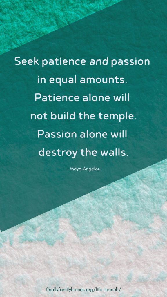 inspirational quote wallpaper from Maya Angelou