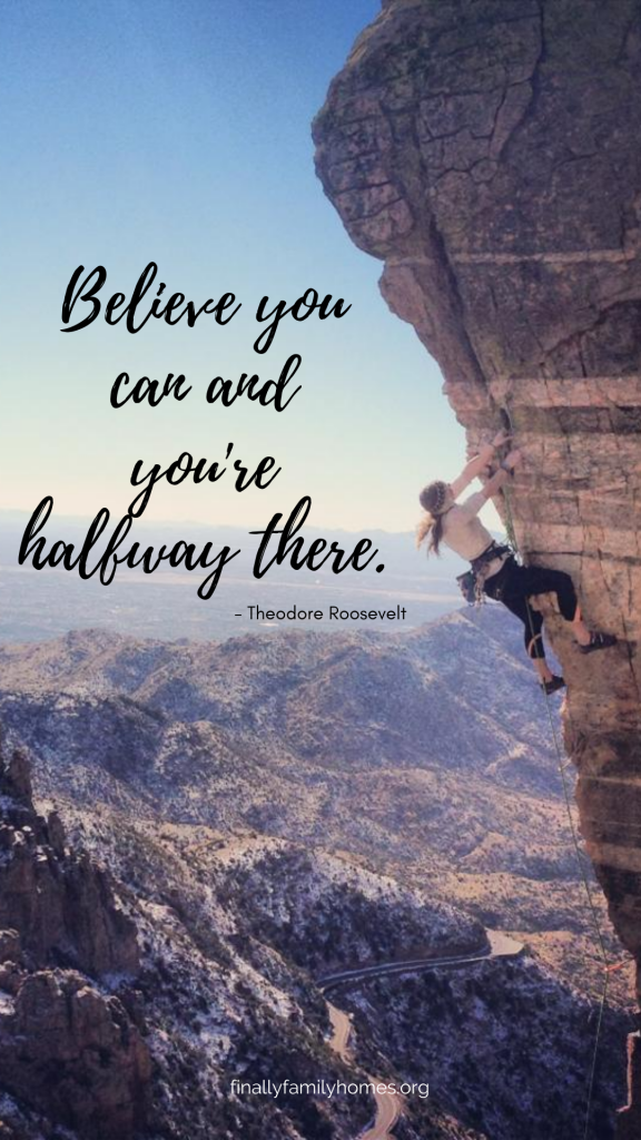 motivational wallpaper for your phone - believe you can
